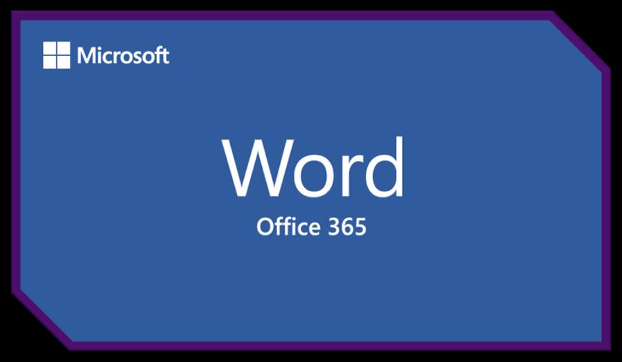 Microsoft Word Office 365.