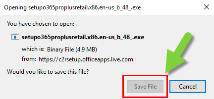 Image of the file ready to download