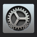 Image of the settings app icon