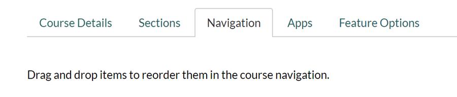 Canvas navigation settings.