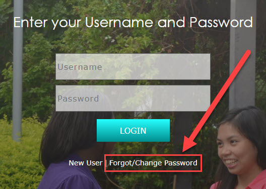Image of the FSW login screen